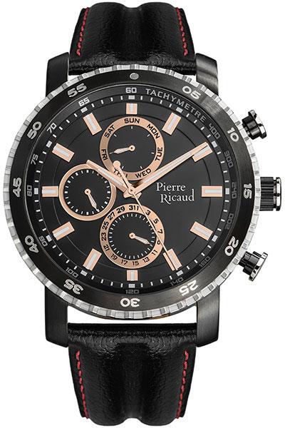 Мужские часы Pierre Ricaud P91080.Y21RQF мужские часы pierre ricaud p91082 b114q
