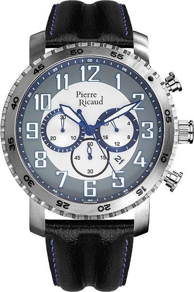 Мужские часы Pierre Ricaud P91081.52B3CH цена и фото