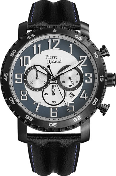 Мужские часы Pierre Ricaud P91081.B223CH мужские часы pierre ricaud p91082 b114q