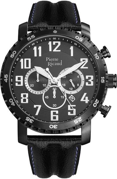 Мужские часы Pierre Ricaud P91081.B224CH мужские часы pierre ricaud p91007 52b3q