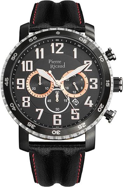 Мужские часы Pierre Ricaud P91081.Y22RCH мужские часы pierre ricaud p91082 b114q