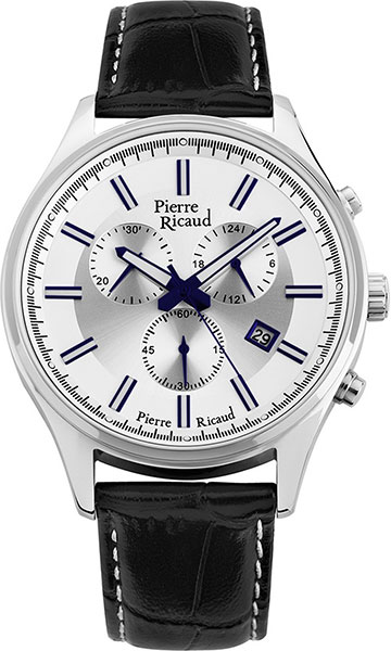 Мужские часы Pierre Ricaud P97007.52B3CH мужские часы pierre ricaud p91082 b114q