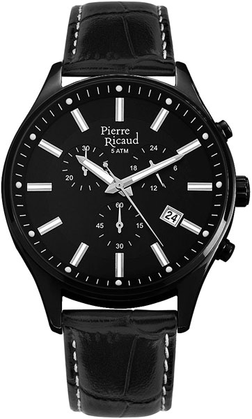 Мужские часы Pierre Ricaud P97007.B214CH мужские часы pierre ricaud p91007 52b3q
