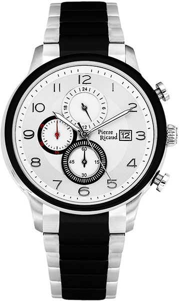 Мужские часы Pierre Ricaud P97017.Y123CH мужские часы pierre ricaud p91082 b114q