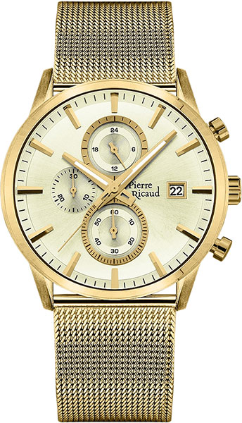 Мужские часы Pierre Ricaud P97201.1111CH мужские часы pierre ricaud p91082 b114q