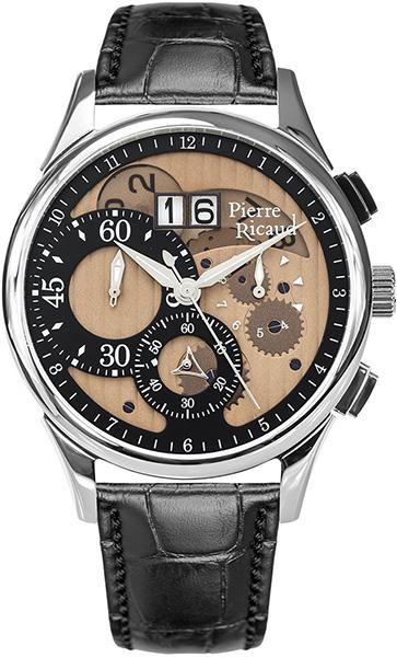 Мужские часы Pierre Ricaud P97211.521GCH мужские часы pierre ricaud p91082 b114q