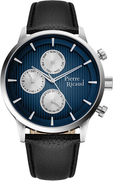 Мужские часы Pierre Ricaud P97230.5215QF мужские часы pierre ricaud p91082 b114q