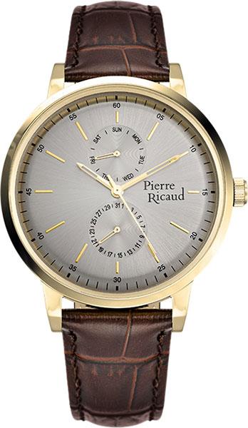 цена Мужские часы Pierre Ricaud P97231.1217QF онлайн в 2017 году