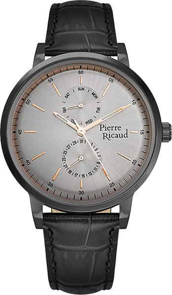 Мужские часы Pierre Ricaud P97231.B2R7QF мужские часы pierre ricaud p97238 5114q