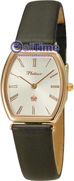 Купить Наручные часы Rt92150.215  Женские наручные золотые часы в коллекции Tonneau Platinor