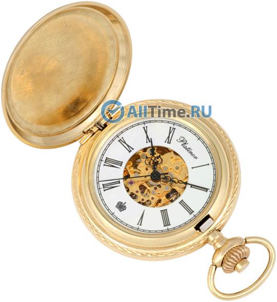 Мужские наручные золотые часы в коллекции Skeleton Platinor