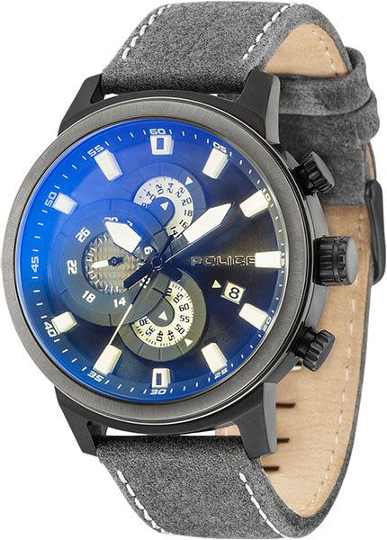 Мужские часы Police PL.15037JSBU/02 часы police 14002jsb 02