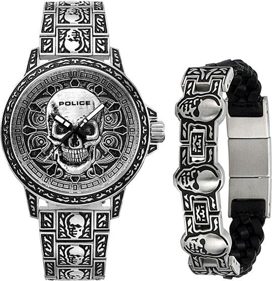 Мужские часы Police PL.15530SKS-SET1 police police pl 13421js 04
