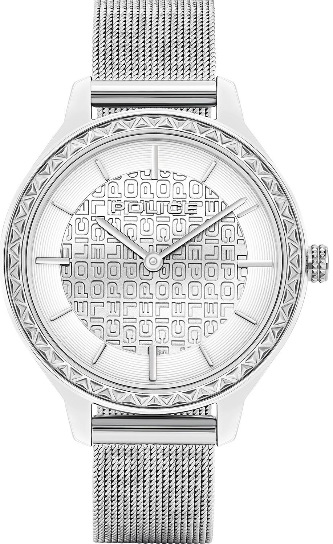 Женские часы Police PL.15689BS/04MM женские часы police pl 16035msrw 04mm