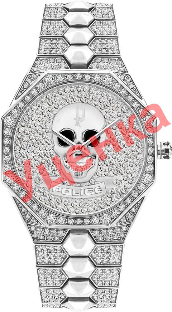 Женские часы Police PL.16027BS/04M-ucenka женские часы police pl 16035msrw 04mm