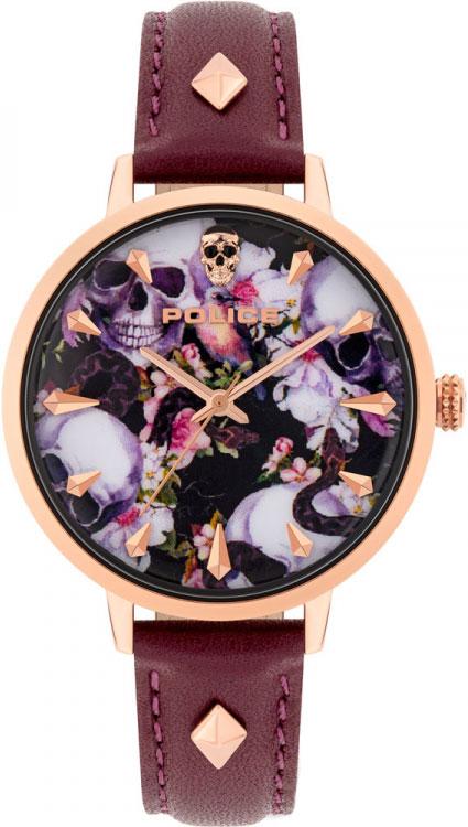 Женские часы Police PL.16034MSR/02A женские часы police pl 16035msrw 04mm