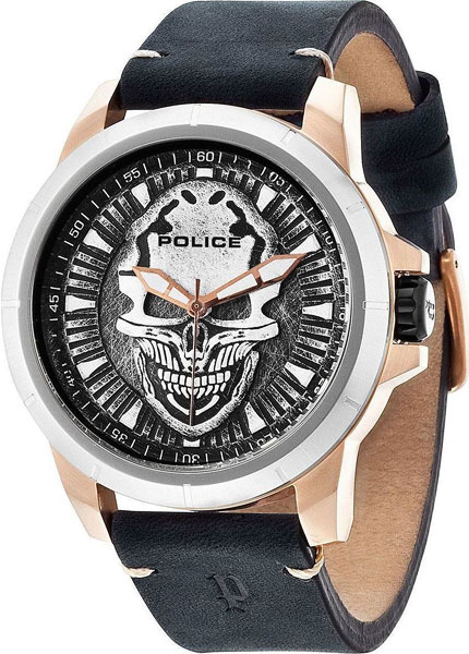 Мужские часы Police PL.14385JSRS/57 цена 2017