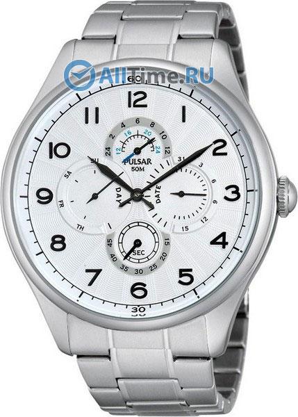 Купить Наручные часы PW9001X1  Мужские наручные часы в коллекции Braselet Pulsar