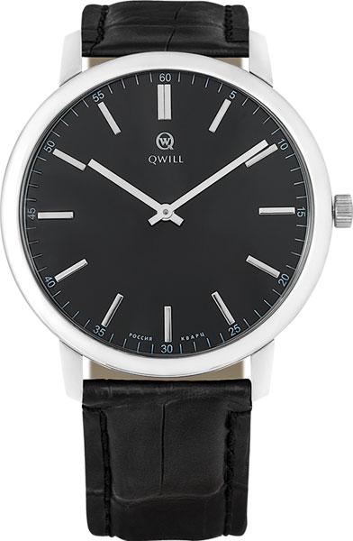 Мужские часы Qwill 6000.01.04.9.55A qwill qwill 6001 01 02 1 51a