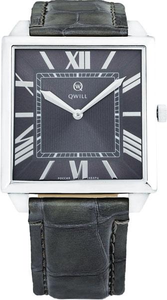 Мужские часы Qwill 6001.01.04.9.73A qwill qwill 6001 01 02 1 51a
