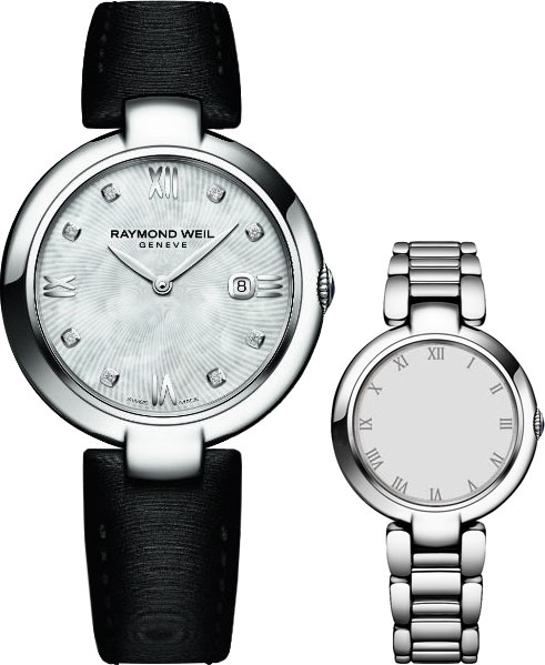 Женские швейцарские наручные часы Raymond Weil 1600-ST-00995