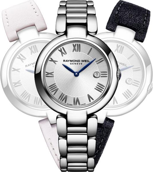 Женские швейцарские наручные часы Raymond Weil 1600-ST-RE659
