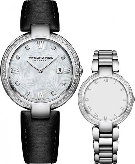 Женские швейцарские наручные часы Raymond Weil 1600-STS-00995