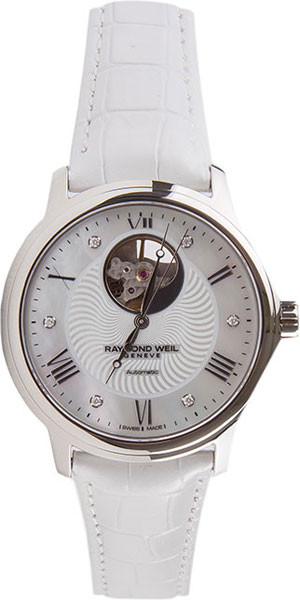 Женские часы Raymond Weil 2227-STC-00966-WHITE raymond weil maestro 2227 stc 00966 white