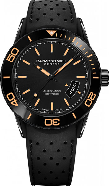Мужские швейцарские механические наручные часы Raymond Weil 2760-SB2-20001