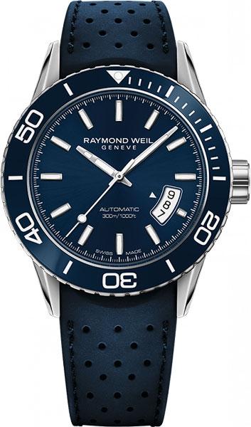Мужские швейцарские механические наручные часы Raymond Weil 2760-SR3-50001