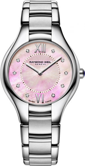 Женские швейцарские наручные часы Raymond Weil 5132-ST-00986