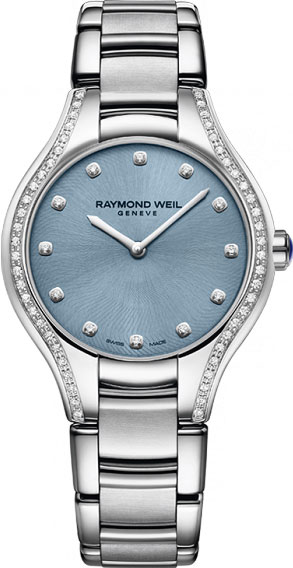 Женские швейцарские наручные часы Raymond Weil 5132-STS-50081