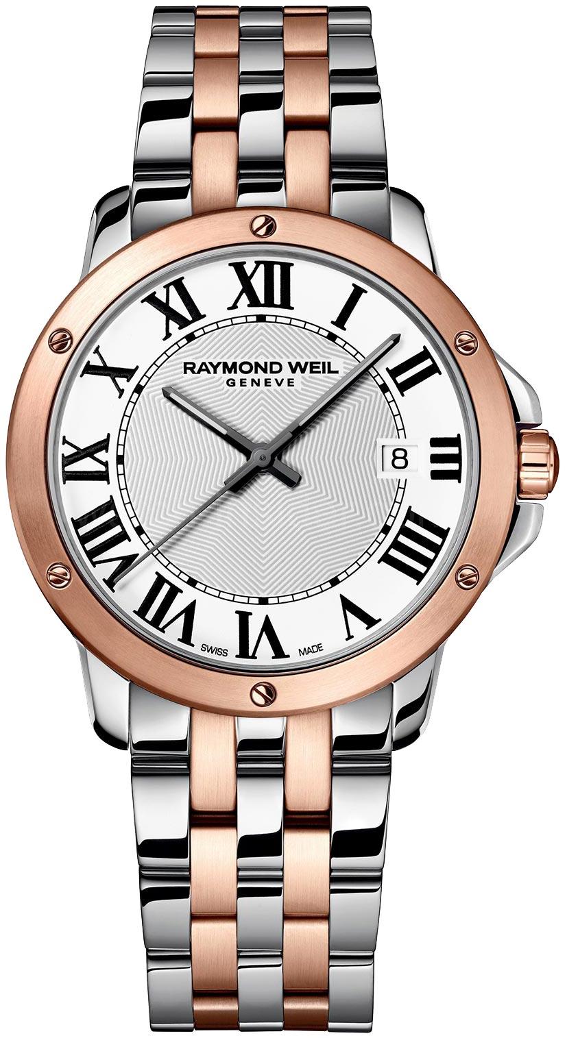 Купить Наручные часы 5591-SP5-00300  Мужские наручные швейцарские часы в коллекции Tango Raymond Weil