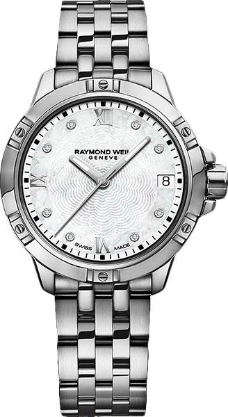 Женские швейцарские наручные часы Raymond Weil 5960-ST-00995