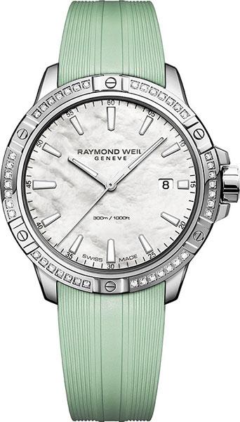 Женские часы raymond weil 8160-rs5-97001