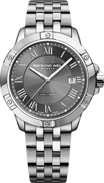 Мужские часы Raymond Weil 8160-ST-00608 cкакалка nike weighted rope 2 0 ns grey black bright citrus