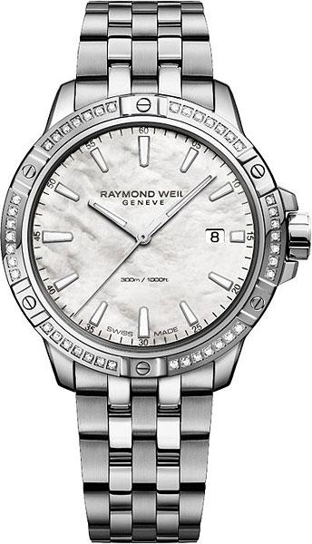 купить Женские часы Raymond Weil 8160-STS-97001 по цене 189000 рублей
