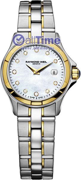 цены на Женские часы Raymond Weil 9460-SG-97081 в интернет-магазинах