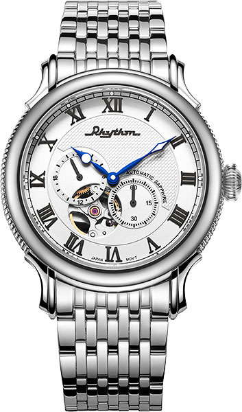 Мужские часы Rhythm A1508S01 бритва браун 1508 тип 5597