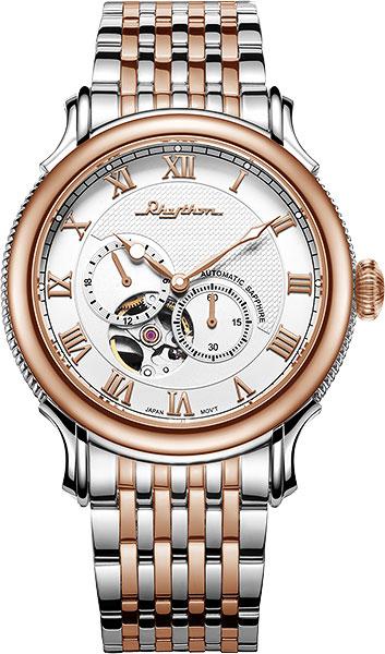 Мужские часы Rhythm A1508S04 бритва браун 1508 тип 5597