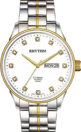 Мужские часы Rhythm GS1602S03 часы я zhuolun мужские часы 2017 новый простой корейский моды большой набор новый yzl0558th 2