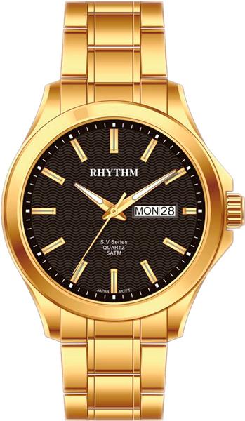 Фото - Мужские часы Rhythm GS1604S07 бензиновая виброплита калибр бвп 13 5500в