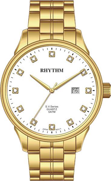 Женские часы Rhythm GS1607S06 moon paris серьги с кристаллами и с гематитом с серебрением mok 1607 061