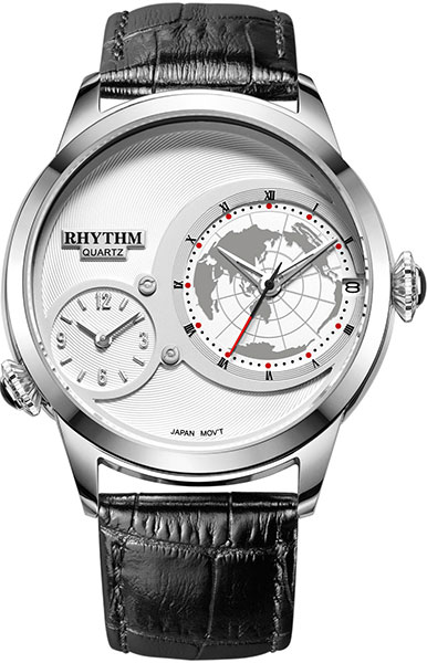 цена Мужские часы Rhythm I1503L01 онлайн в 2017 году