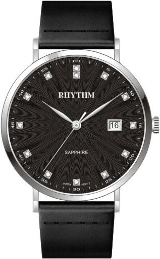лучшая цена Мужские часы Rhythm PE1611L02