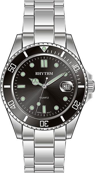 Мужские часы Rhythm RQ1601S02 смартфон leagoo m5 plus
