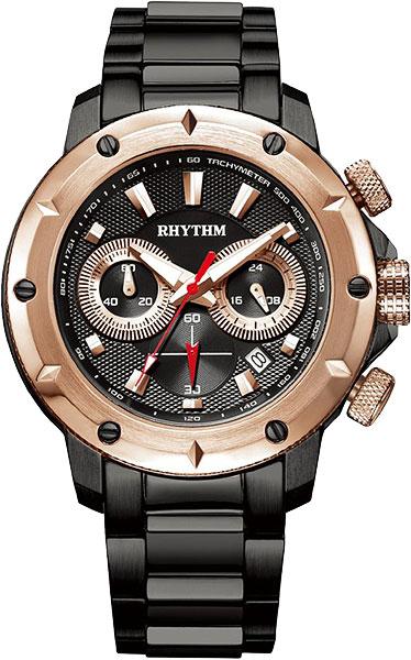 цена Мужские часы Rhythm S1103S05 онлайн в 2017 году