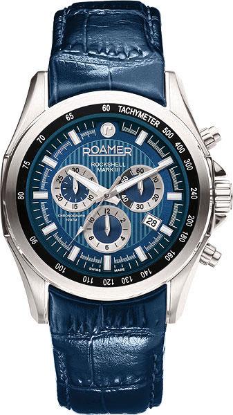 Фото «Швейцарские наручные часы Roamer 220.837.41.45.02 с хронографом»