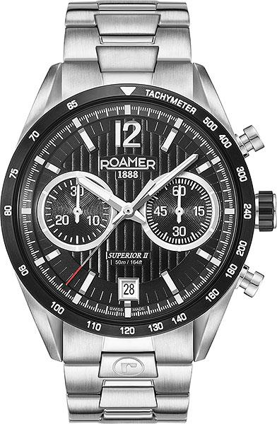 Мужские часы Roamer 510.902.41.54.50 браслет стальной к часам маурицио
