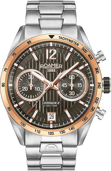 Мужские часы Roamer 510.902.49.64.50 браслет стальной к часам маурицио
